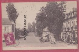 27 - CORNEVILLE SUR RISLE---Café-Tabac--Duchemin Et Route Trouville Dauville---animé Pas Courante - Francia