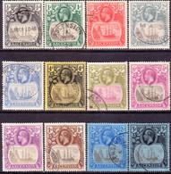ASCENSION 1924-27 SG #10-20 Compl.set Used CV £600 - Ascension