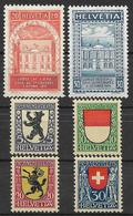 SVIZZERA 1924 UPU Nuova Con TL  Pro Juventute Nuova Gomma Integra - Svizzera
