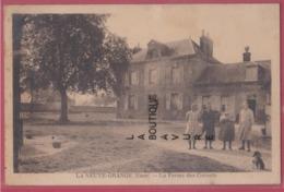 27 - LA NEUVE GRANGE---La Ferme Des Cornets---animé---cpsm Pf--pas Courante - Francia