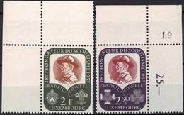1957 Cinquantenaire Du Scoutisme, Neuf,  Michel 2019: 567-568, 2F&2,50F. Valeur Catalogue: 3,50€ - Luxembourg