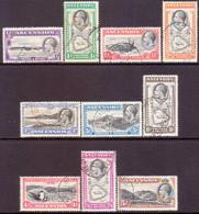 1934 ASCENSION SG #21-30 Compl.set Used CV £120 - Ascension (Ile De L')
