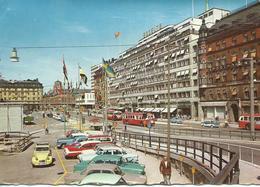 SUEDE STOCKHOLM Vasagatan 1964 Cpsm BE - Sweden