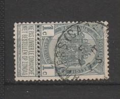 COB 53 Oblitéré ANVERS (Bassins) - 1893-1907 Wappen