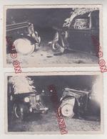 Au Plus Rapide Accident Renault Juva Quatre Juvaquatre Beau Format - Automobiles