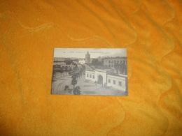 CARTE POSTALE ANCIENNE CIRCULEE DATE ?.../ TUNIS.- LA KASBA ET LE BOULEVARD BAB MENARA. - Tunisie