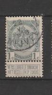 COB 81 Oblitéré NIVELLES 1 A - 1893-1907 Wappen