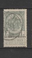 COB 81 Oblitéré BERTRIX - 1893-1907 Wappen