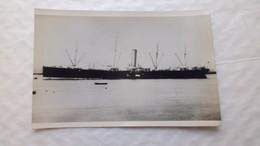 Carte Photo Du Steamer Montreal Cie. Générale Transatlantique Construit En 1896 / Collection M.Adam - Remorqueurs