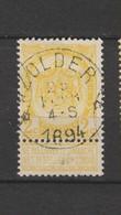 COB 54 Oblitéré Relais ZOLDER - 1893-1907 Wappen