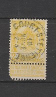 COB 54 Oblitéré COURT-ST-ETIENNE - 1893-1907 Wappen