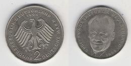 BRD  2 DM 1994 J  W. Brandt Bfr - [ 7] 1949-… : FRG - Fed. Rep. Germany