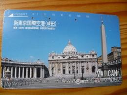 Phonecard Japan 250-439 Vatican - Japan