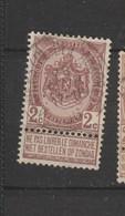 COB 55 Oblitéré ANVERS (Place De L'Aurore) Superbe - 1893-1907 Wappen