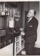 PHOTO ORIGINALE ( 13X18) WERHLE Directeur De L Office Meteorologique - Personnes Identifiées