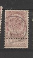 COB 55 Oblitéré LEUZE - 1893-1907 Wappen