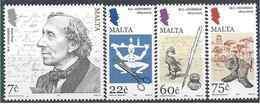 2005 MALTE 1342-45**   Andersen, Plume, Encrier - Malte
