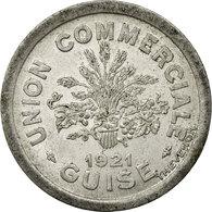 Monnaie, France, 10 Centimes, 1921, TTB, Aluminium, Elie:15.2 - Monétaires / De Nécessité