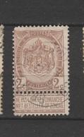 COB 55 Oblitéré BRUXELLES (Nord) - 1893-1907 Wappen