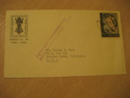 LIMA 1958 ? To Boulder Creek USA Expo Stamp On Cancel Cover PERU - Pérou