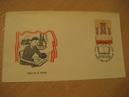 LIMA 1979 Education Stamp On FDC Cancel Cover PERU - Peru