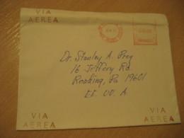 URUBAMBA Via Cuzco 1979 To Reading USA Cancel Meter Air Mail Cover PERU - Peru