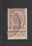 COB 82 Oblitéré Relais LILLE-ST-HUBERT - 1893-1907 Wappen