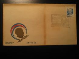 1982 Artigas FDC Cancel Cover URUGUAY - Uruguay