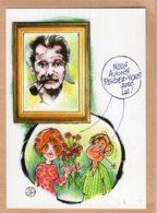 B55349 Georges Brassens - Nous Avons Rendez Vous Avec Lui - Imagier Géo Thiercy - Cartes Postales