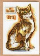 B55350 Chat - IIIe Millénaire 2012 - Imagier Géo Thiercy - Cartes Postales