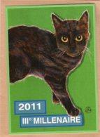 B55351 Chat - IIIe Millechatenaire 2011 - Imagier Géo Thiercy - Cartes Postales