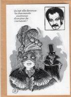 B55353 Georges Brassens, Qu'est Elle Devenue ? - Imagier Géo Thiercy - Cartes Postales