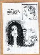 B55354 Georges Brassens, Oublié L' Hôtel Mal Famé - Imagier Géo Thiercy - Cartes Postales
