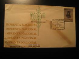 1965 Imprenta Nacional FDC Cancel Cover URUGUAY - Uruguay