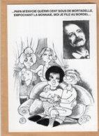 B55355 Georges Brassens, Le Petit Fils D'Oedipe - Imagier Géo Thiercy - Cartes Postales