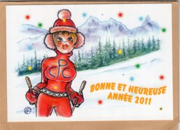 B55364 Bonne Année 2011  - Imagier Géo Thiercy - Cartes Postales