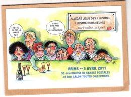B55365 Reims 2011 Bourse Collections - Imagier Géo Thiercy - Cartes Postales