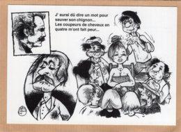B55366 Georges Brassens, Chanson La Tondue - Imagier Géo Thiercy - Cartes Postales