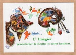 B55367  Chat - Lurettes & Lurelettes - Imagier Géo Thiercy - Cartes Postales