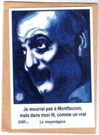 B55374 Georges Brassens, Le Moyenâgeux - Imagier Géo Thiercy - Cartes Postales