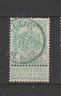 COB 56 Oblitéré BOUILLON - 1893-1907 Wappen