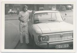 REAL PHOTO, Guy Next To Old Car,NSU , Automobilia, Auto, Serbia ,ORIGINAL - Automobiles