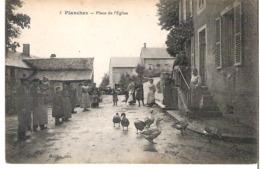 PLANCHEZ    Place De L'Eglise - Autres Communes