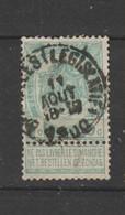 COB 56 Oblitéré BRUXELLES (Législatif) - 1893-1907 Wappen