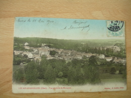 18 Les Aix D Angillon Carte Colorisee Vue Generale - France