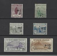 FRANCE  YT  N° 162---167  Neuf **   1922 - France