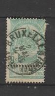 COB 56 Oblitéré BRUXELLES (Midi) - 1893-1907 Wappen