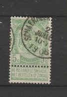 COB 56 Oblitéré SCHAERBEEK - 1893-1907 Wappen