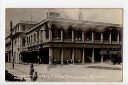 CUBA - SUPERBE CARTE PHOTO - CAIBARIEN - Colonia Espanola Y Teatro Cervantes - Foto Otero - Cuba