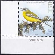 Estland 2006, 551, Vogel Des Jahres: Schafstelze. MNH ** - Estonia